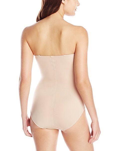 81b44cc3c95e7 Heavenly Shapewear Women s Molded Cup Dot Bodysuit at Amazon Women s  Clothing store