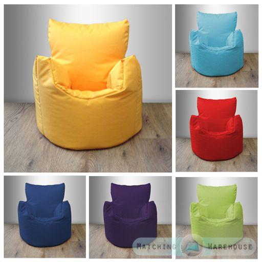 Waterproof Children S Kids Bean Bag Chair Indoor Outdoor Garden Beanbag Seating Bean Bag Chair Childrens Bean Bag Chair Bean Bag Chair Kids