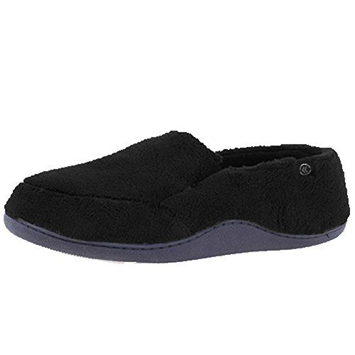 b4e66a4bca13 ISOTONER Men s Microterry Slip-On Slippers     Trust me