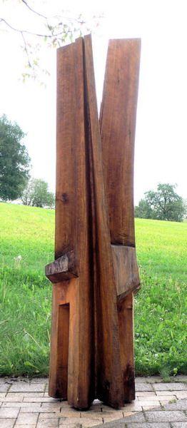 Ausstellung berlin im dialog skulpturen in holz skulpturen ausstellungen berlin - Gartenskulpturen holz ...