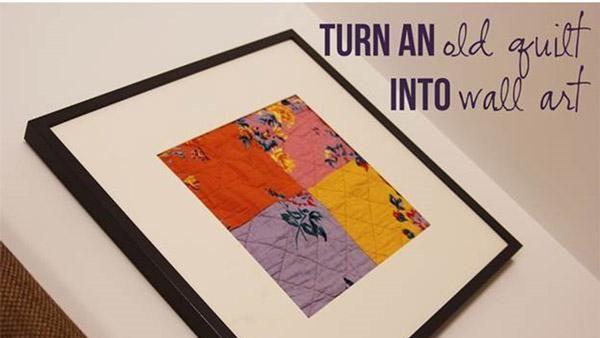 Framed Quilt Art | DIY Art | Pinterest | Quilt art, Rustic wall art ...