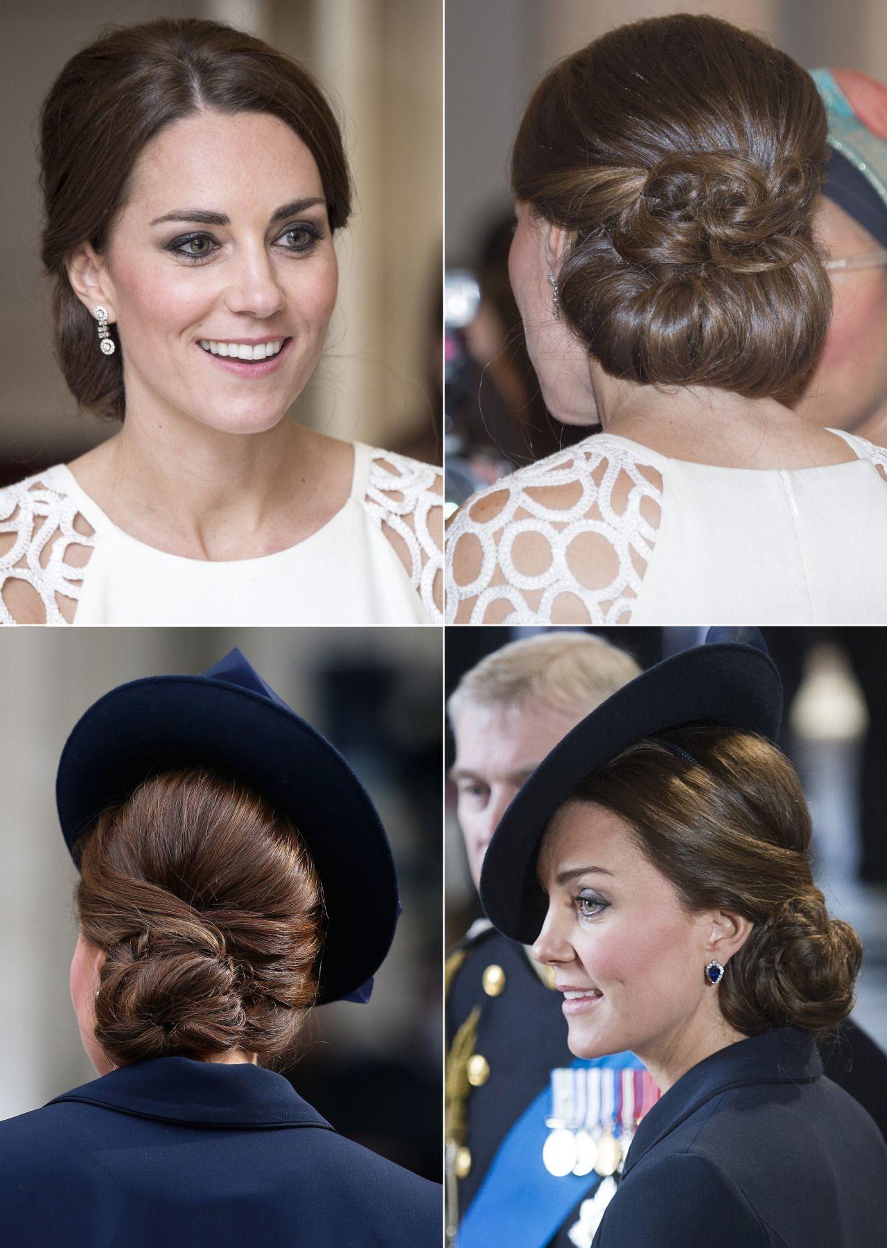 Chiara Borloni , OneVision \u2014 Le acconciature top di Kate Middleton