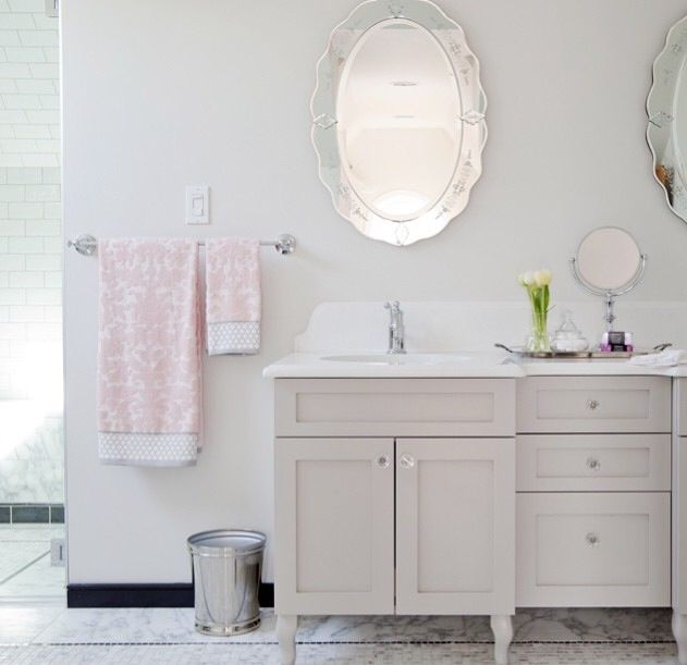 Awesome Elegant Bathroom Paint Colors Behr Bathrooms: Silver Bathroom, Behr Silver Drop, Caesarstone