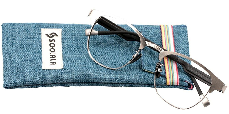 8323af00f4330 Retro Design Clear Lens Eyeglass Frame Quality Reading Glasses ...