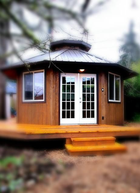 Wood Yurt Kits Tiny House and Small House Sizes yurt house