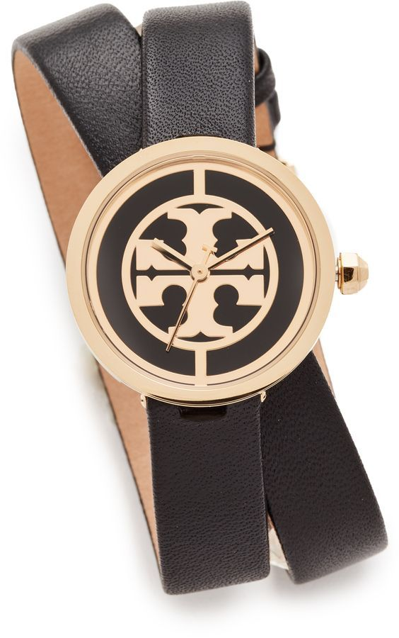 8475c53c4 The Reva Leather Wrap Watch in 2018 | Products | Pinterest | Tory ...