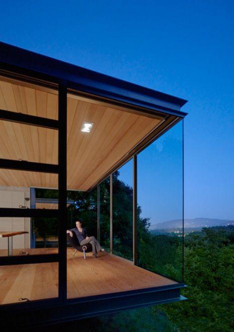 Three small buildings for creative thinking, sleeping and meditation on cedar shed design, cedar home design, cedar greenhouse design,