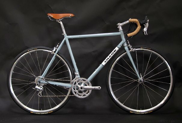 reynolds 853 steel road frame skinnymalinky handbuilt by shand cycles