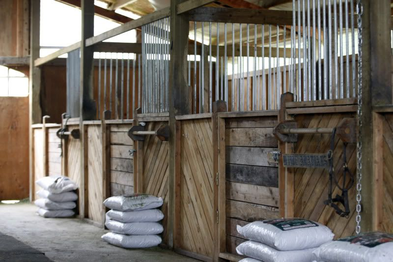 Diy Stall Fronts Are Easily Made By Drilling Equidistant