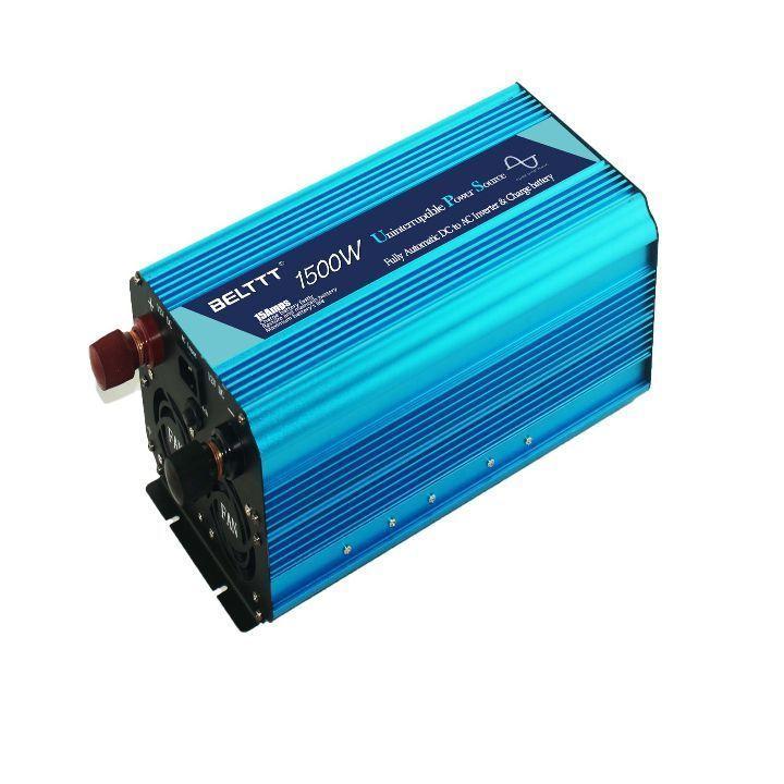 1500w//3000w pure sine wave power inverter 12v DC to 110v 120v AC converter LED