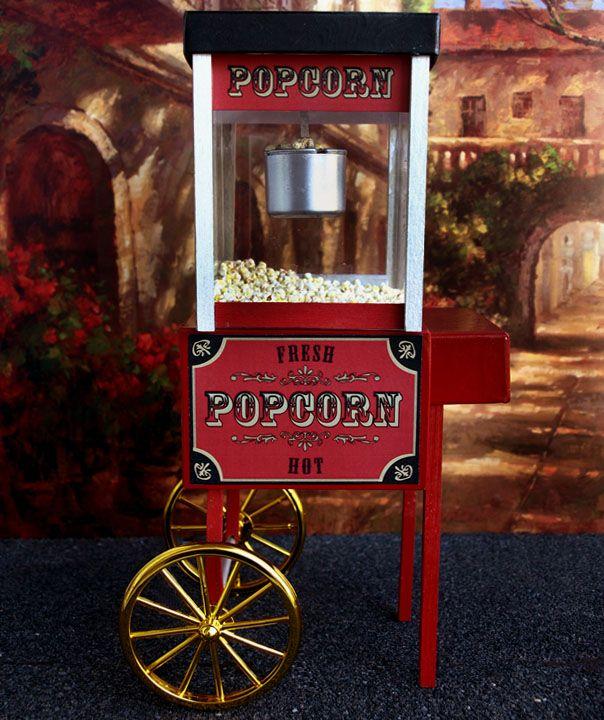1:6 Popcorn Cart