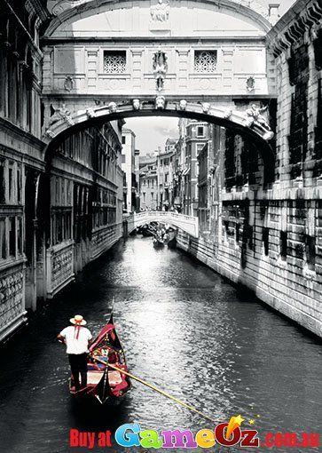 Gondola On Grand Canal Art Print Home Decor Wall Art Poster D Venice Italy
