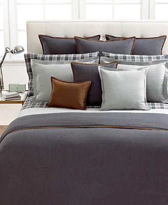 lauren ralph lauren holden bedding collection dark grey duvet cover dark grey duvet cover. Black Bedroom Furniture Sets. Home Design Ideas