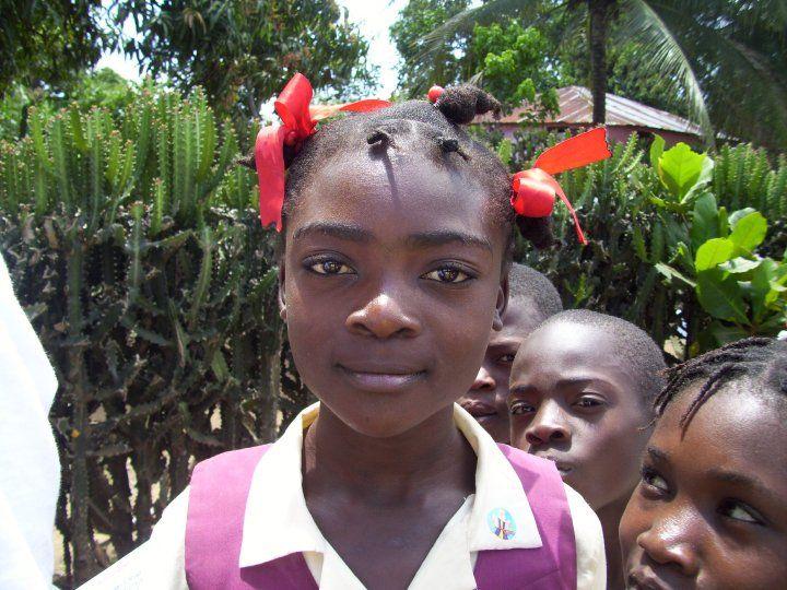 School Children from Haiti. My heart!