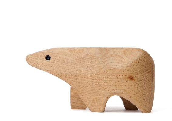 Bear Animal Box by Karl Zahn