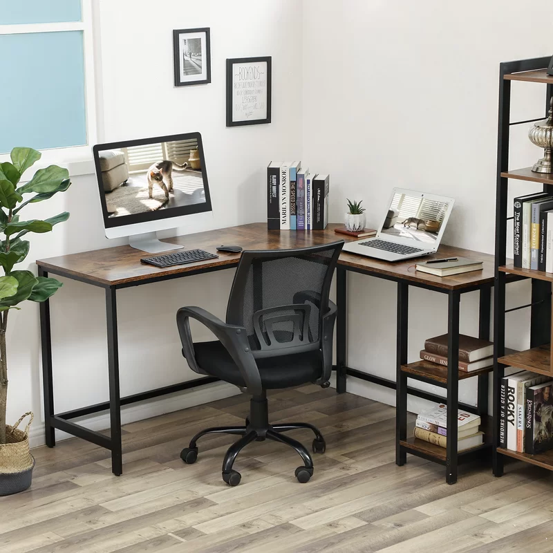 Vaillancourt L Shape Desk In 2020 Modern Home Office Desk