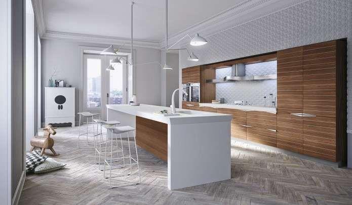 Cucine moderne in legno 2017 | Cucina