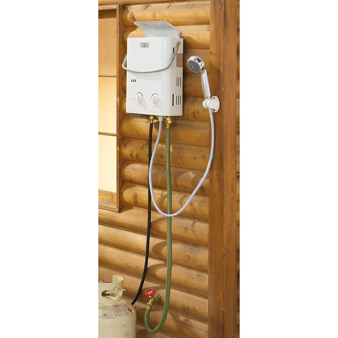Eccotemp L7 1 7 Gpm Portable 41 000 Btu Liquid Propane Outdoor Tankless Water Heater Outdoor Shower Tankless Water Heater Water Heater