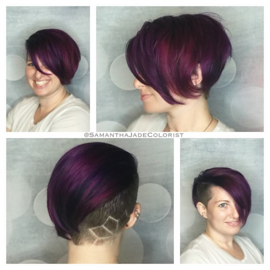Violet wild orchid and too cute coral pravana vivids for hair color