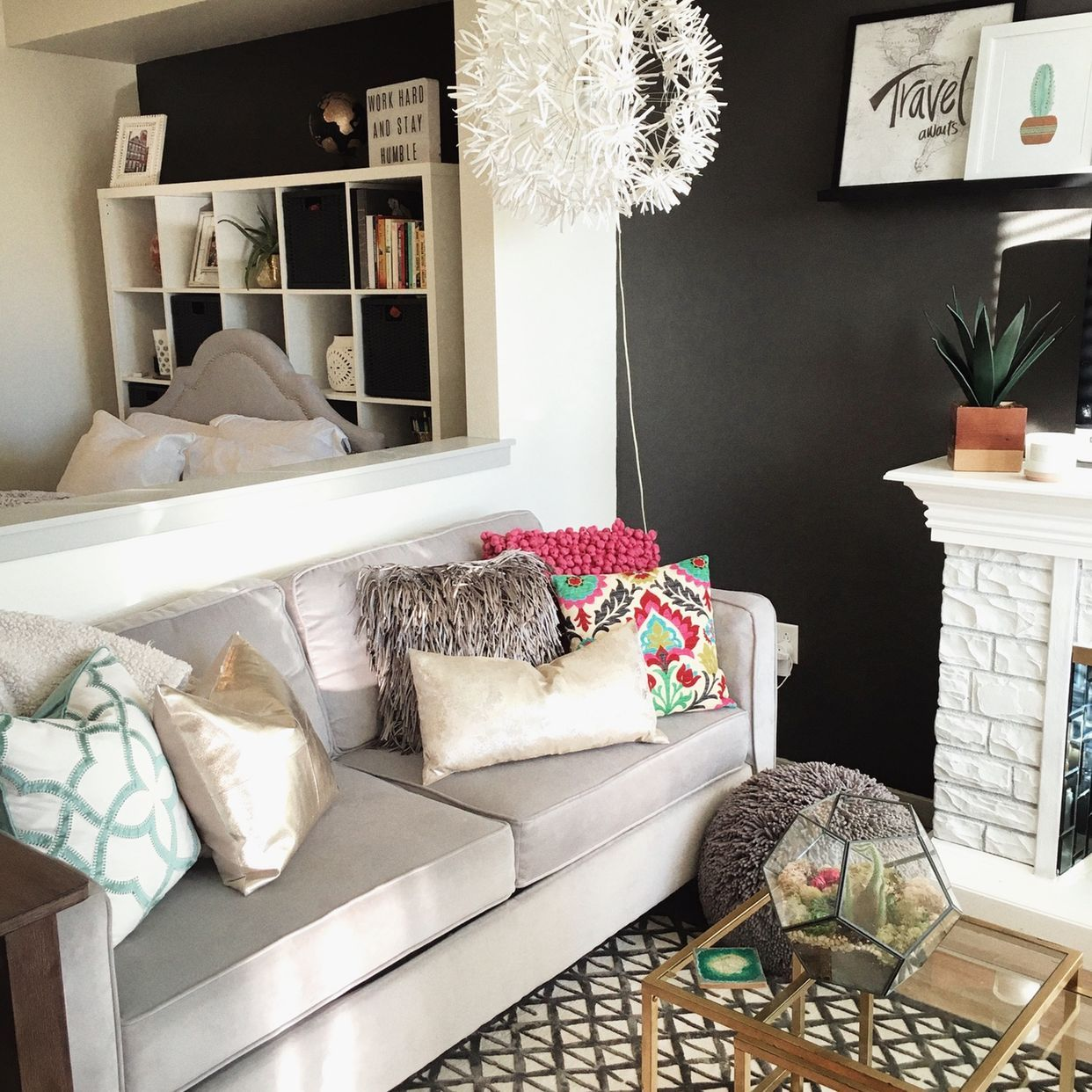 One Bedroom Apartments In Denver Colorado: One Woman And Her Dachshund Share A Stylish Studio In
