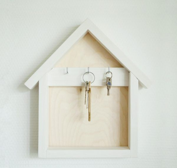 Wall Key Holder Part - 41: Unique Wall Key Holders And Hook Racks