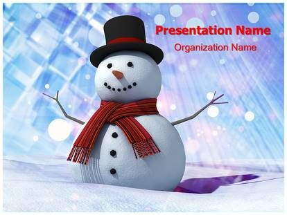 Download Snowman Powerpoint Template For Your Upcoming