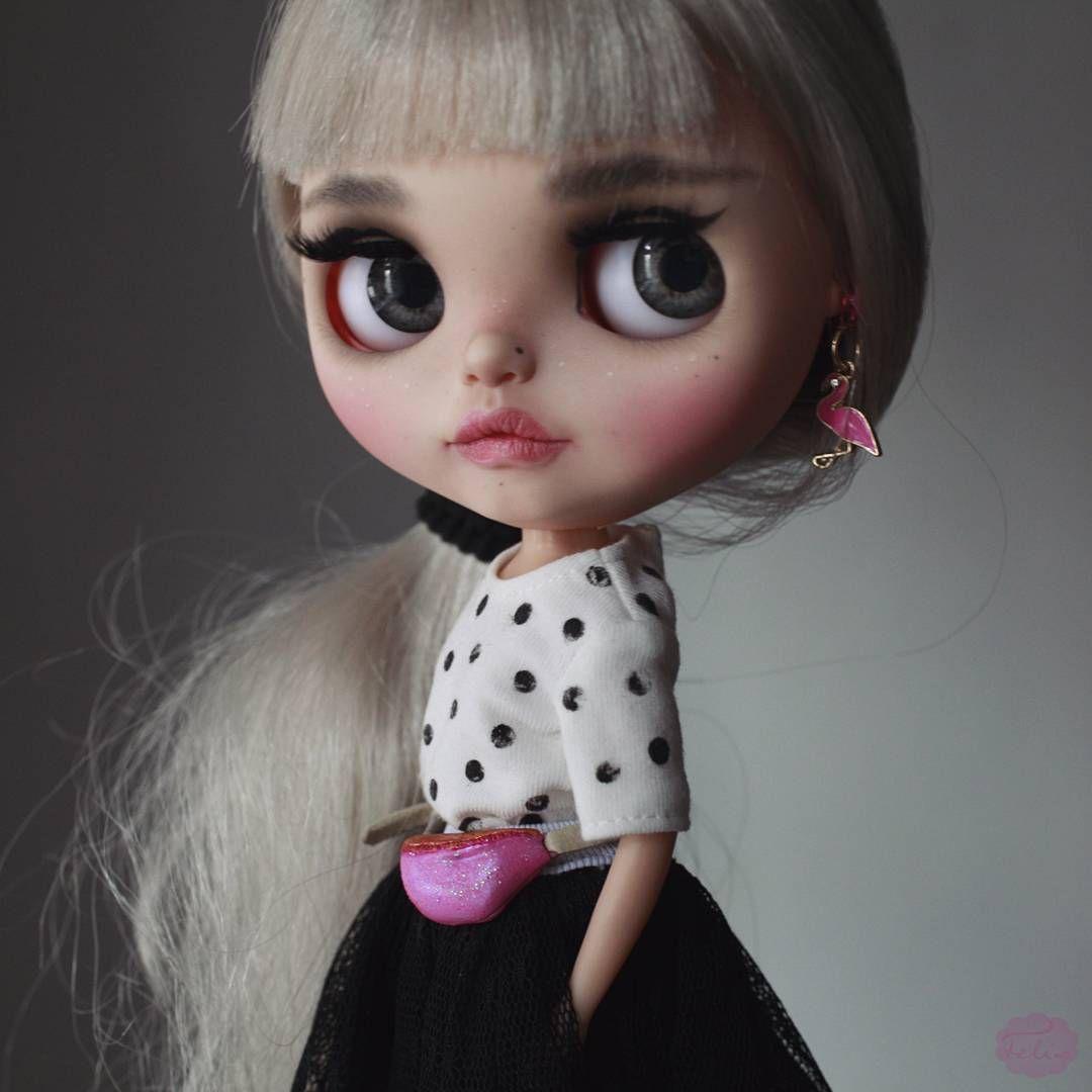 Custom Blythe by KarolinFelix #blythe #customblythe #blythecustom #artdoll #dollart #dolls