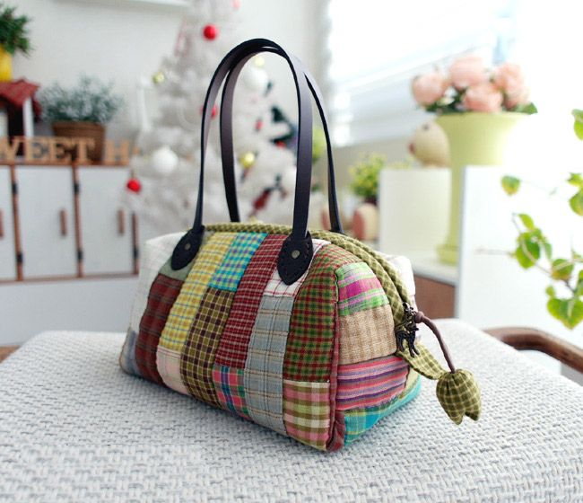 Boston Bag Patchwork Tutorial