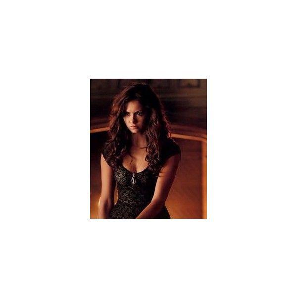Katherine Pierce seductive ❤ liked on Polyvore featuring nina dobrev and tvd