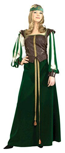 Deluxe Maid Marian Renaissance Adult Costume