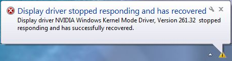 Graphics card driver keeps crashing and recovering? Let