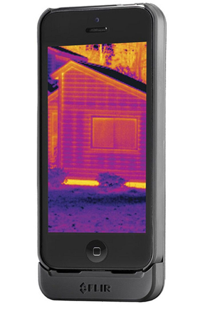 sports shoes b4e74 6e341 CES 2014: FLIR Systems Debuts 'FLIR ONE' Thermal Camera Case for ...