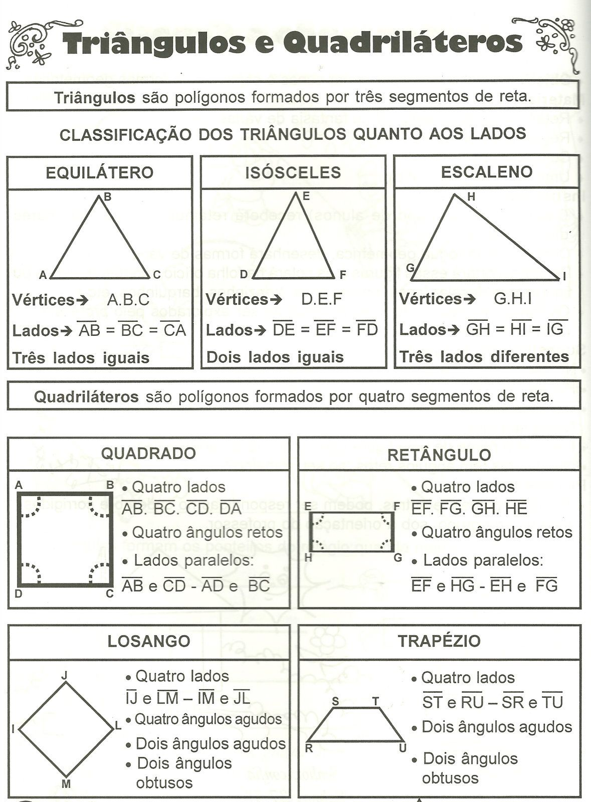 Top Jpg 1179 1600 Geometria Plana Angulos Matematicas Geometria