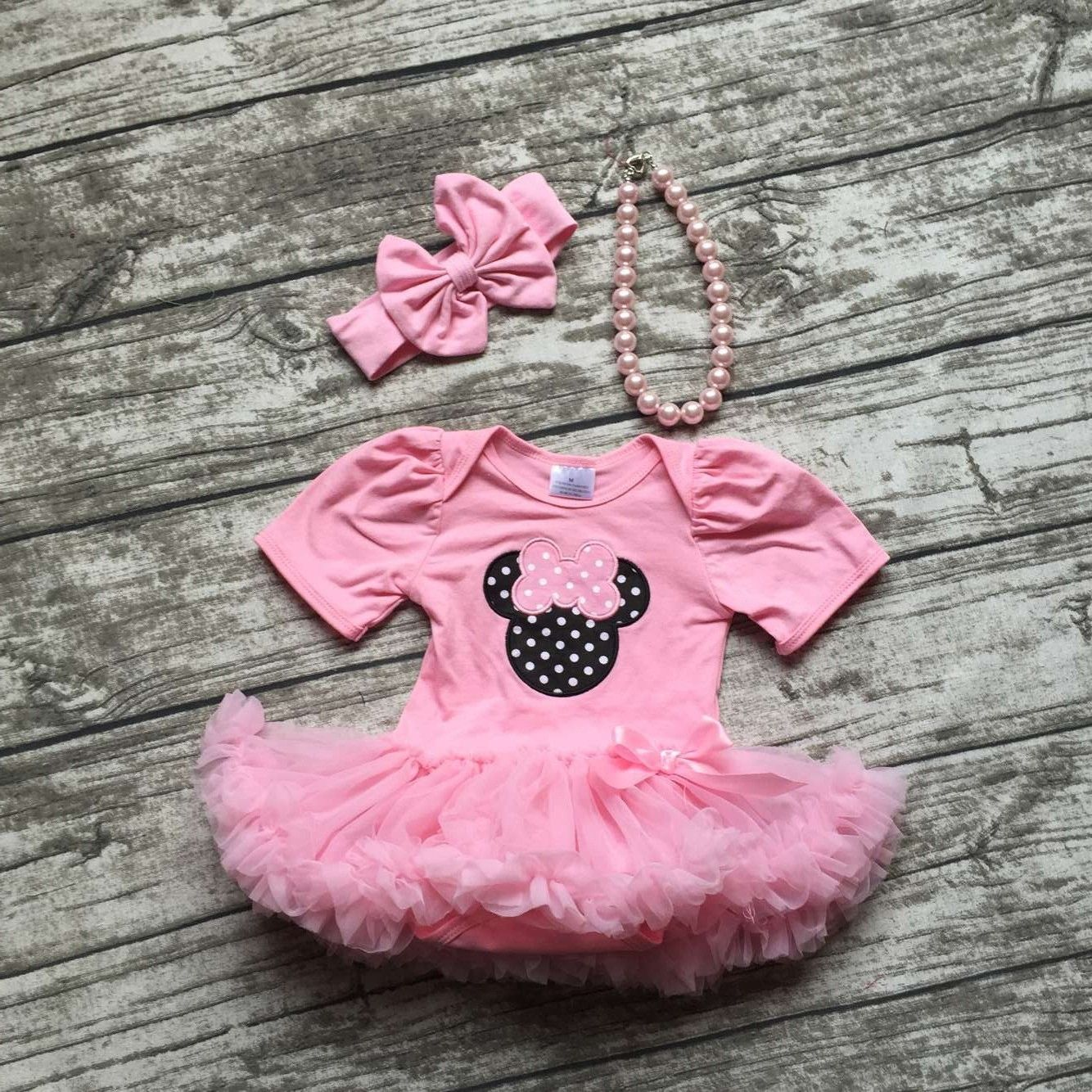 Perfect dress for your little girl's #birthday party. Dress up your child with light pink tutu dress that makes her look fabulous. Shop @ http://bit.ly/2fZ7GCq