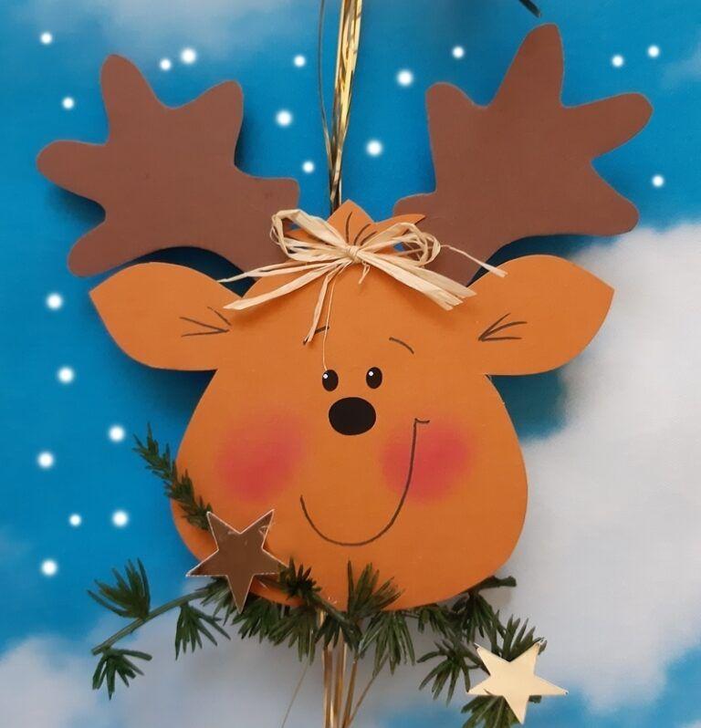 Weihnachtliche Dekokette – Eine Idee aus dem Blog der Buntpapierwelt.de