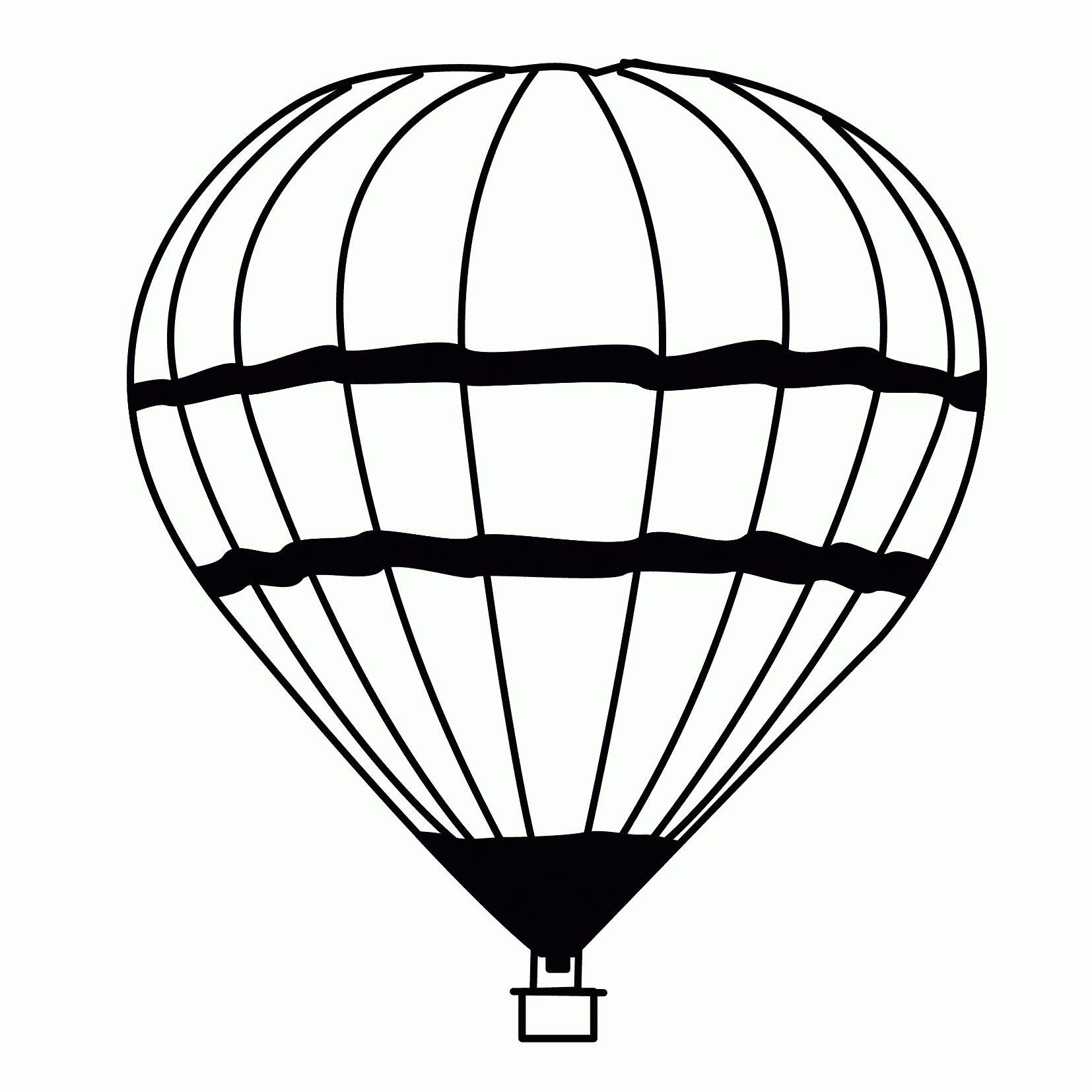 9 Besser Malvorlage Heißluftballon Idee 9  Malvorlagen