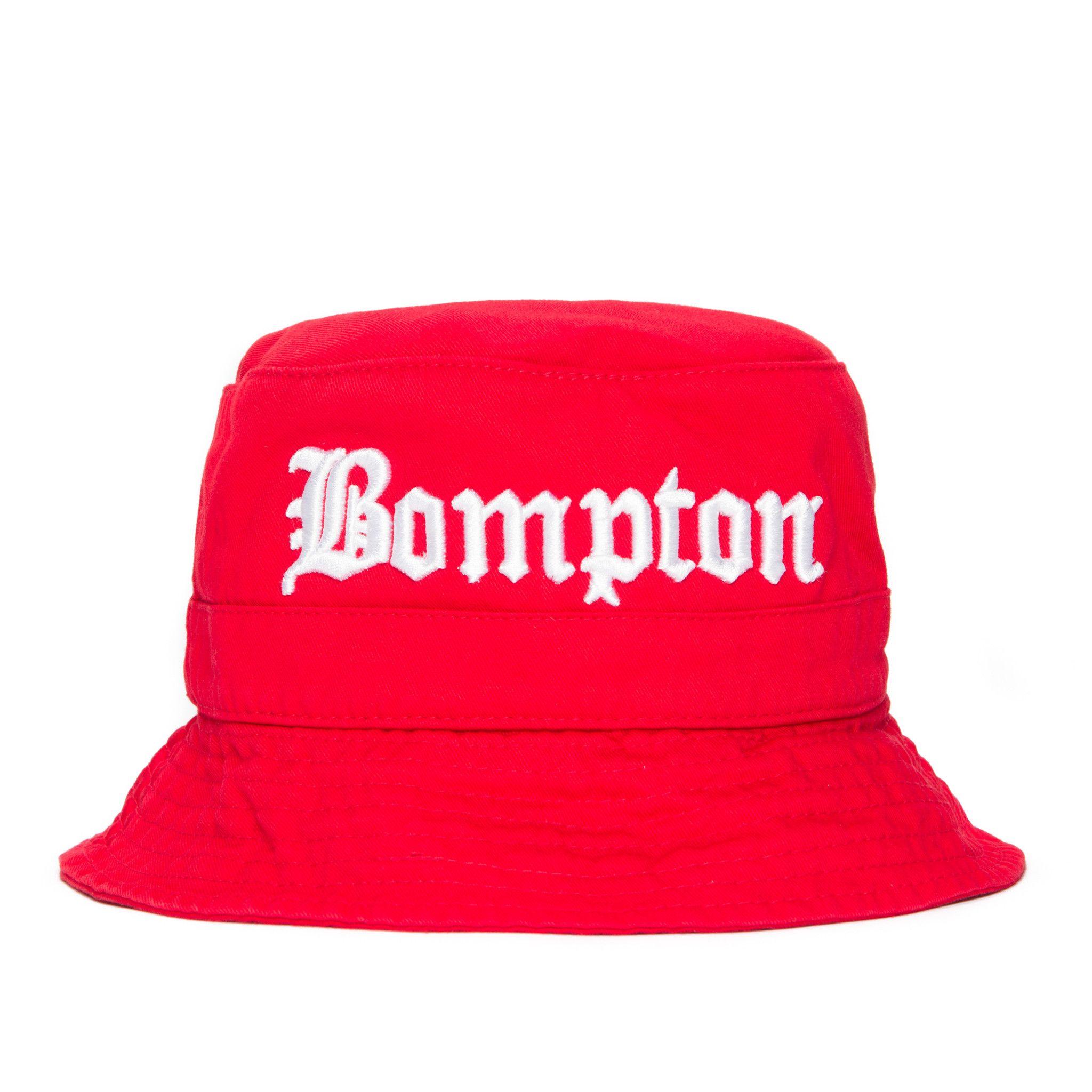 Bompton Bucket Hat (Red)