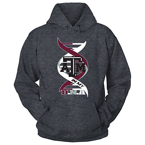 30029ce4 Texas A&M Aggies Texas ATM in My DNA Grey Hoodie - Official Sports ...