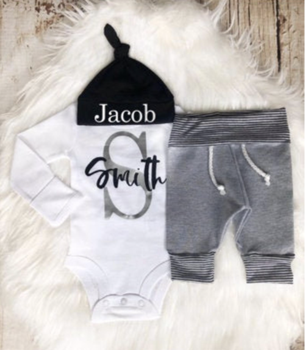 Photo of Baby Boy Coming Home Outfit