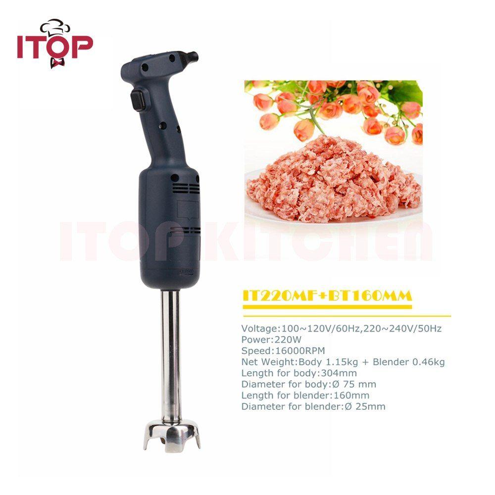 Itop Multifunctional Handheld Immersion Blender Commercial Food Mixer Juicer Meat Grinder Food Processors It22 Food Processor Recipes Mixer Juicer Meat Grinder