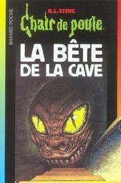 Chair De Poule T 46 La Bete De La Cave Roman Books