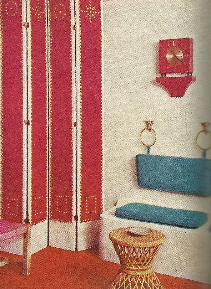 Better Homes and Gardens Decorating Ideas book from 1960.
