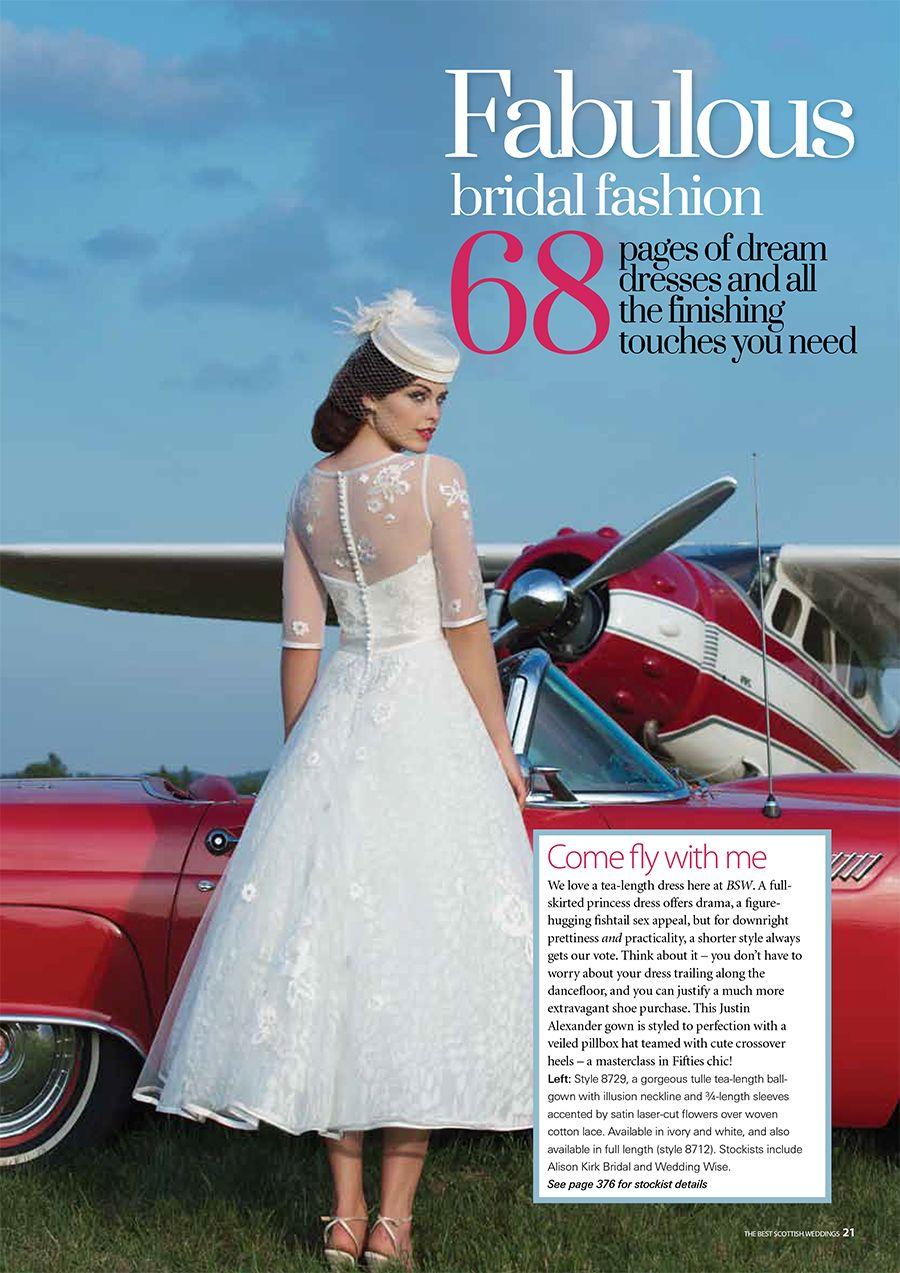 Vintage short wedding dresses Justin Alexander wedding dresses are ...