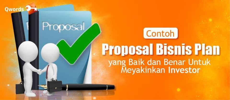 Contoh Proposal Bisnis Digital - Contoh Makalah Terbaru 2021