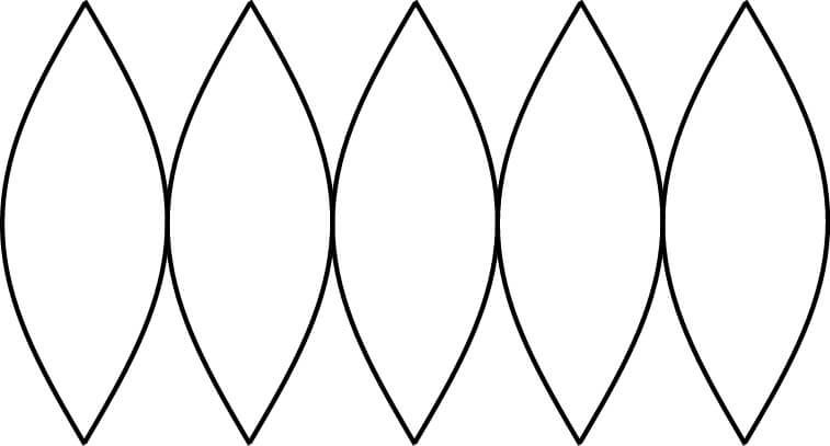 舟形 多 円錐 図法 作り方