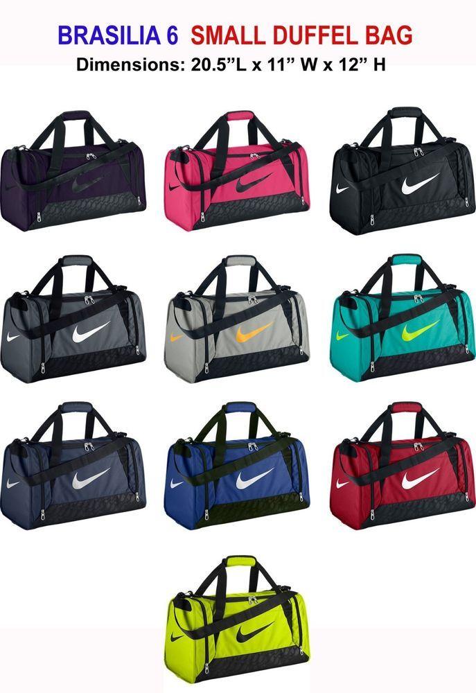 Nike Brasilia 6 Small Duffel Gym Bag Grip BA4831