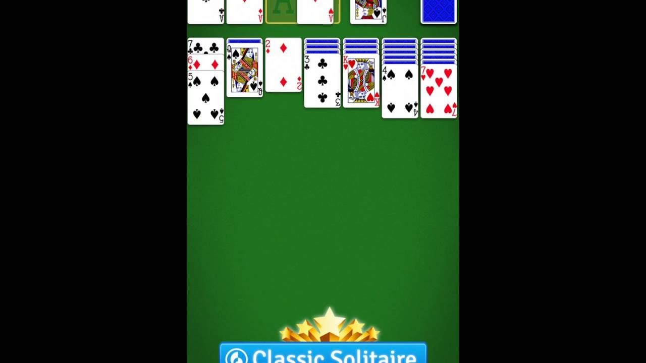 Solitaire by mobilityware a classic card game on google