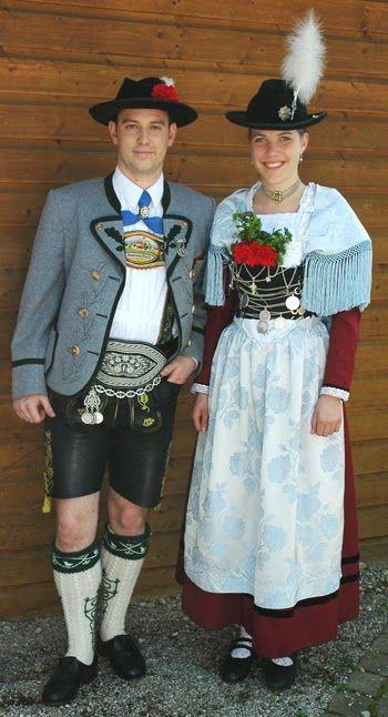 FolkCostume&Embroidery | Folk Dress | German costume ...
