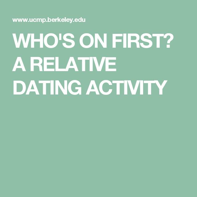 berkeley relative dating
