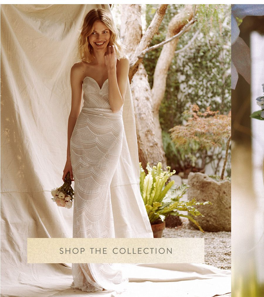 Beach wedding dress under 500  Free People Ever After Bridal  W  Pinterest  Free people
